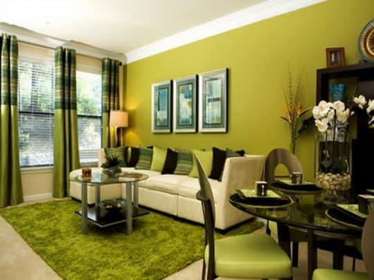 خانه ی سبز و آرامش بخش