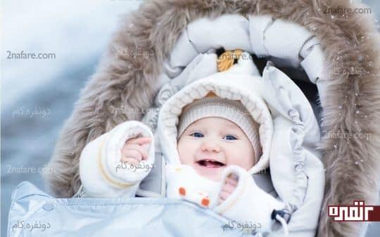 دمای بدن نوزاد را متعادل نگه دارید