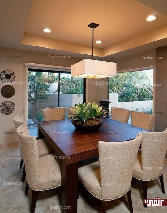 دکور جذاب فضای خانه با کاربرد لوازم چوبی