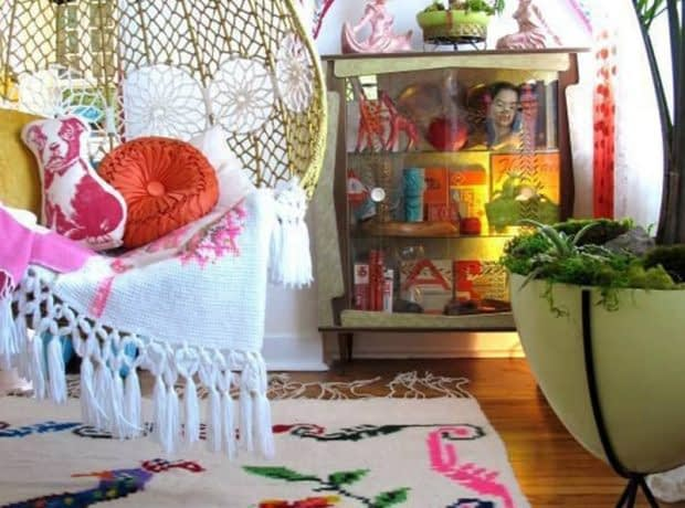 رنگ ها و نقش های زیبا در سبک بوهومین