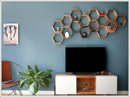 روش هایی زیبا و جذاب برای تزیین دیوار پشت تلویزیون