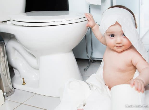 زمان آموزش دستشویی رفتن به کودکان