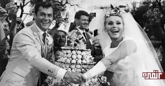 شادی در ژست عروس و داماد