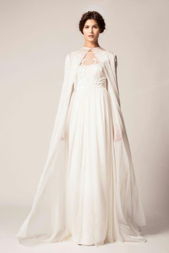 شنل حریر عروس