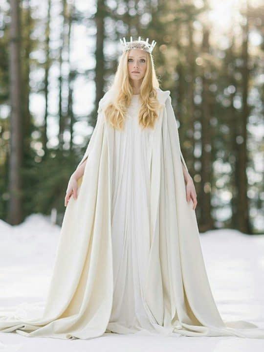 شنل زمستونی برای عروس