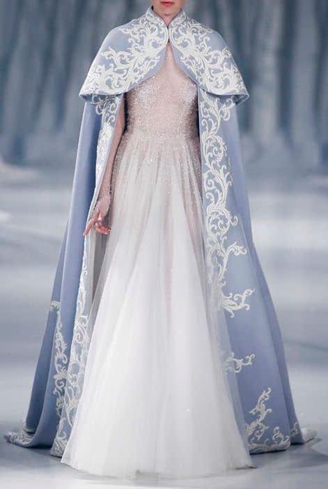 شنل عروس بلند