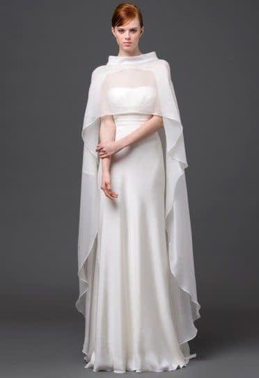 شنل عروس حریر و ساده