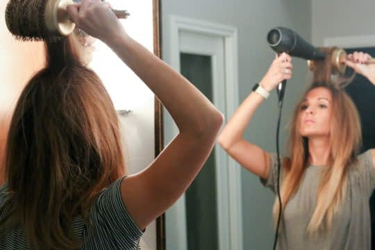 صاف کردن قسمت جلوی مو