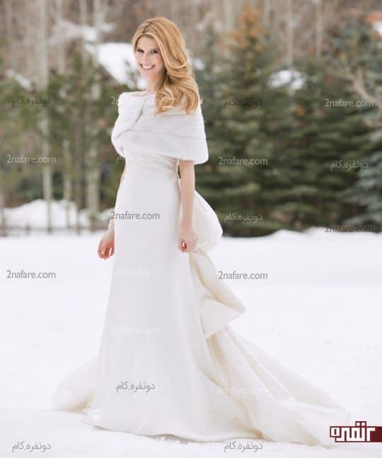 عروس با ژست زیبا
