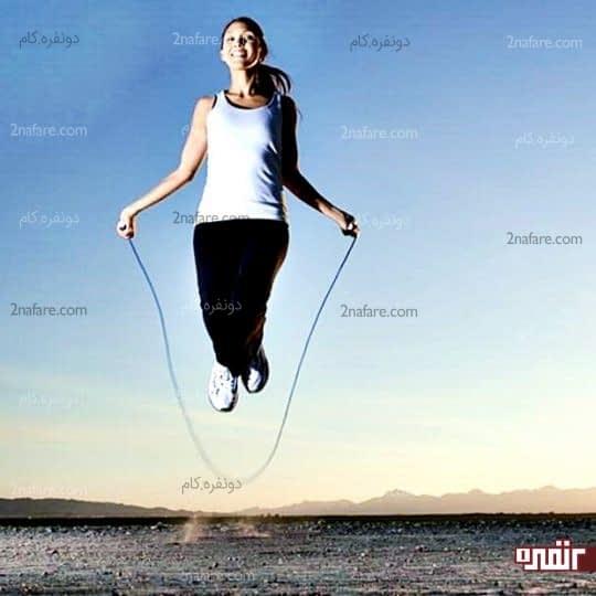 فواید و مضرات طناب زدن برای خانم ها