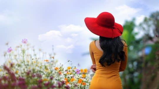 قاب زیبا طبیعت برای ژست عکاسی