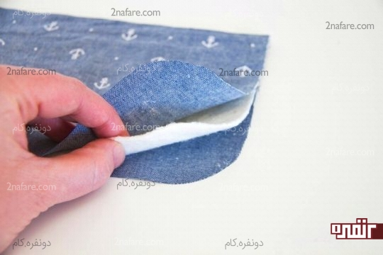 قرار دادن لایه های جیب روی هم
