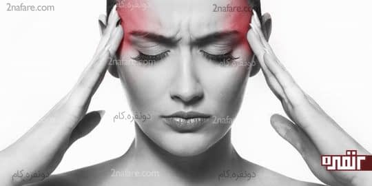 ماساز صورت تسکین سر درد