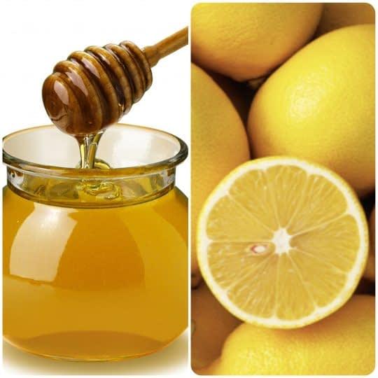 ماسک لیمو و عسل