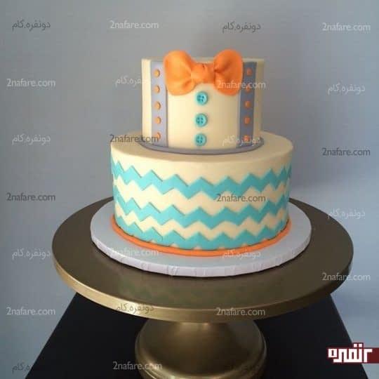 مدل زیبای کیک تولد پسرونه