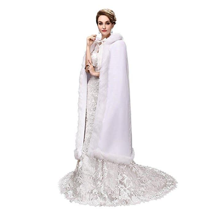 مدل شنل عروس شیک و زیبا • دونفره