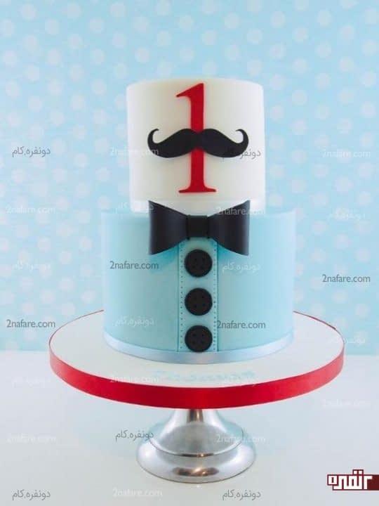 مدل کیک تولد پسرونه یک سالگی