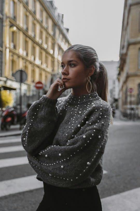 مدل بلوز کلوش مدل لباس های مروارید دوزی شده جدید و زیبا • دونفره