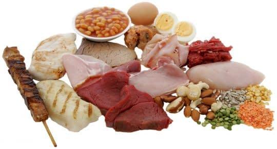 پروتئین یک استراتژی بلند مدت برای کاهش چربی شکم