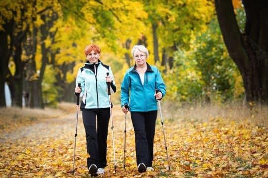 پیاده روی موثر برای جسم و روح بزرگسالان