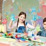 ایده های نقاشی انگشتی برای کودکان