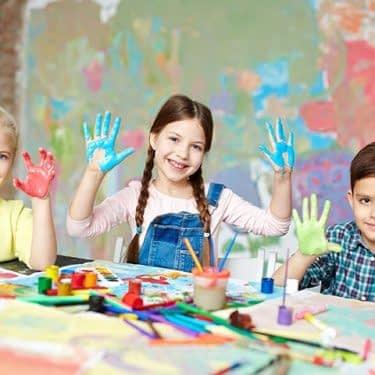 چند ایده نقاشی انگشتی برای کودکان
