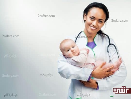 مراجعه به پزشک برای مشورت در مورد یبوست نوزاد