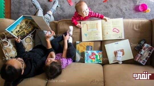 چگونه کودکان را به کتاب خواندن علاقمند کنیم؟