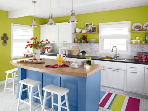 چیدمان آشپزخانه های کوچک