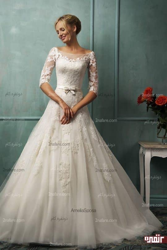 ژست عروس در عروسی