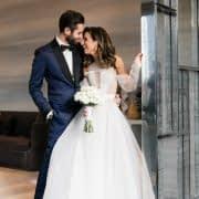 ژست عکاسی عروس و داماد