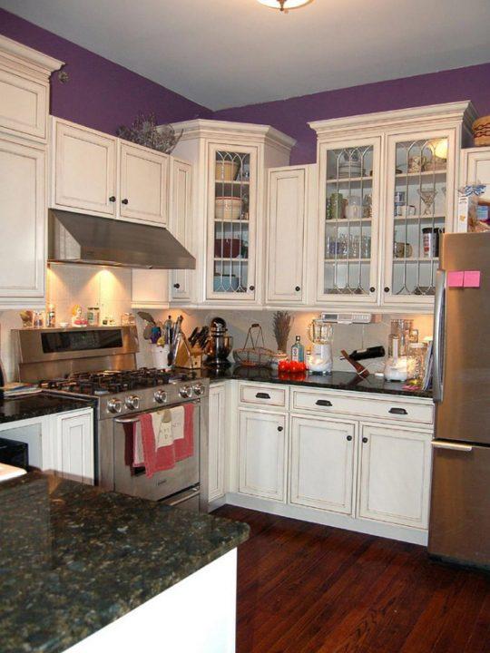 کابینت های جادار و زیبا برای آشپزخانه های کوچک