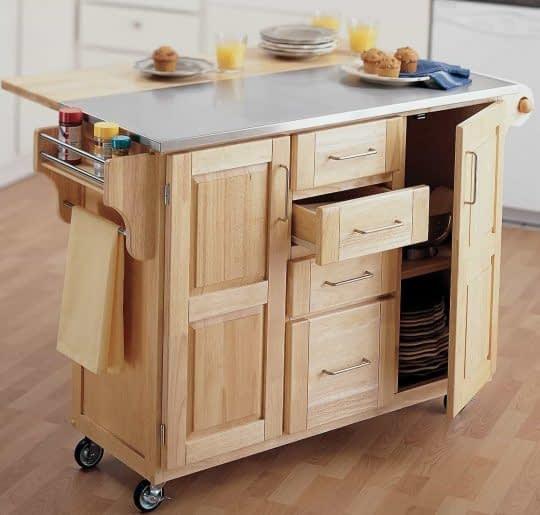 کابینت های سفارشی برای آشپزخانه های کوچک