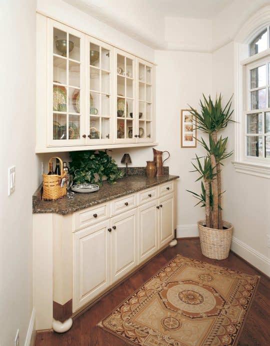 کابینت های کنجی برای کنج آشپزخونه کوچک