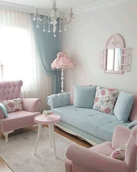 کاربرد رنگ صورتی در خانه