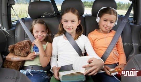 کتاب خواندن برای بچه ها در هر شرایطی