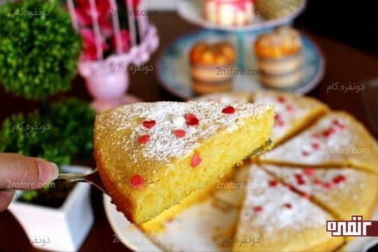 کیک کدو حلوایی 1