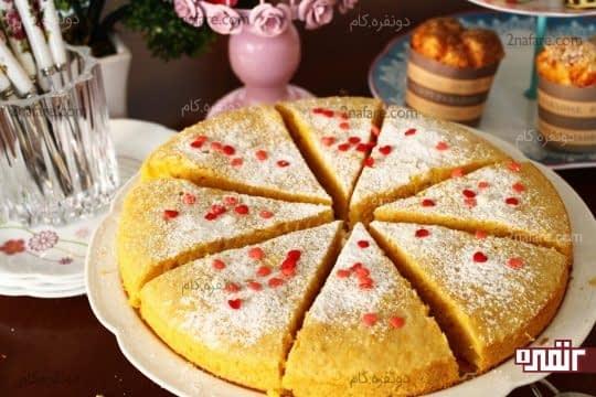 کیک کدو حلوایی
