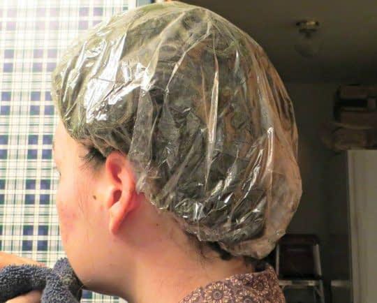 گرم نگه داشتن موها