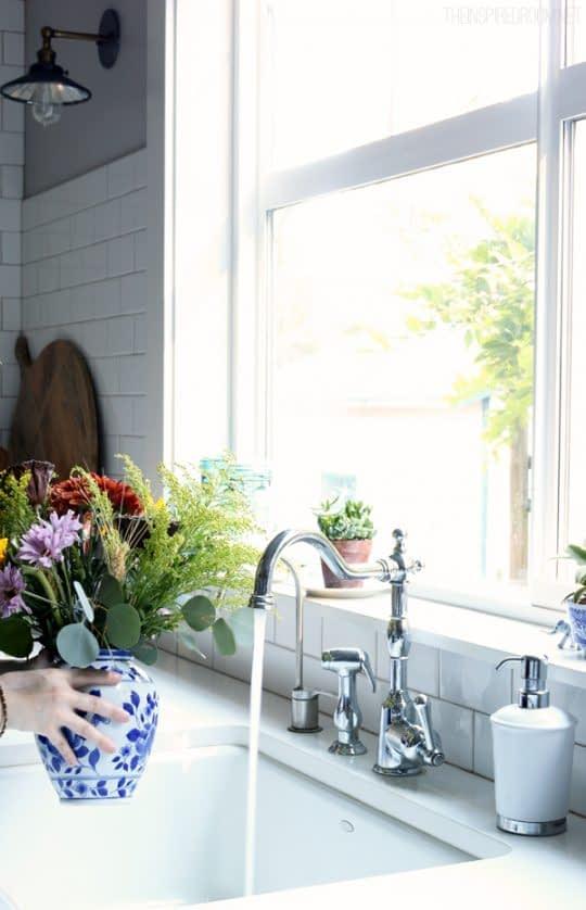 گل های طبیعی برای قرار دادن در خانه
