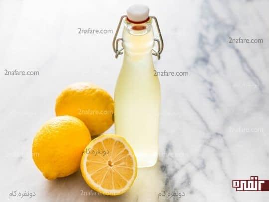 لیمو درمان خانگی مسمومیت غذایی