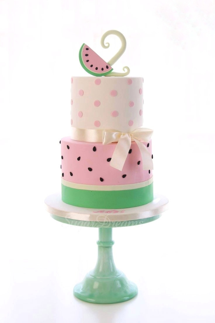 متن برای تولد دو سالگی تزیین کیک شب یلدا با تم هندوانه • دونفره