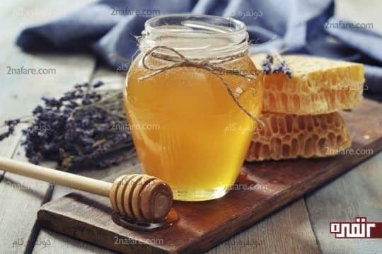 عسل درمان خانگی مسمومیت غذایی