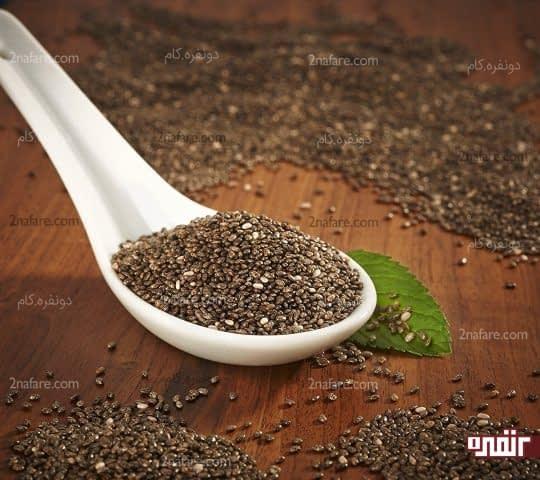 دانه چیا ماده ای مناسب برای کاهش قند خون