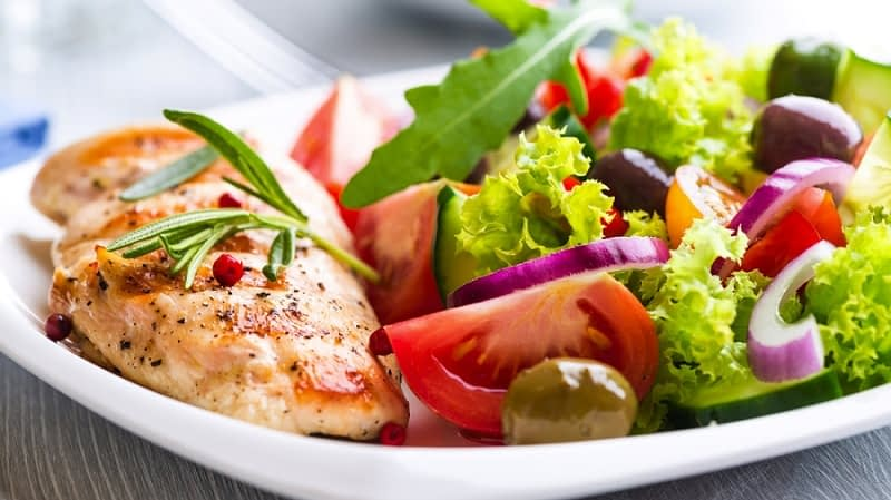 رژیم غذایی سالم و متعادل