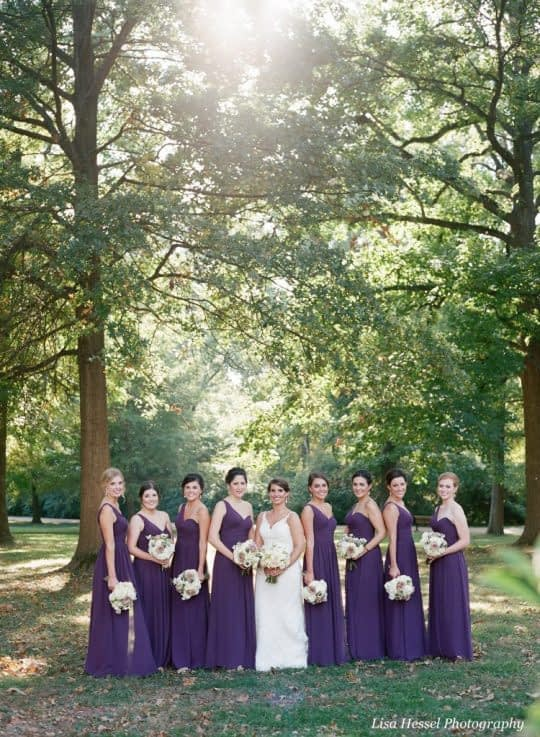 چطور رنگ سال رو در عروسی بکار ببریم