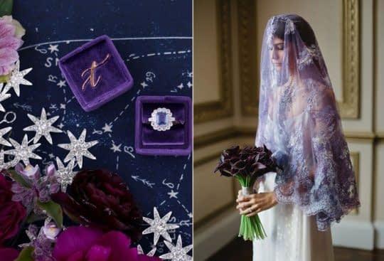 جعبه حلقه عروس و داماد