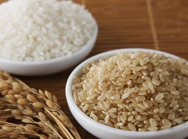 تفاوت برنج سفید یا قهوه ای