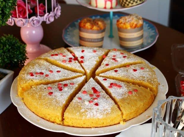 کیک کدو حلوایی 2