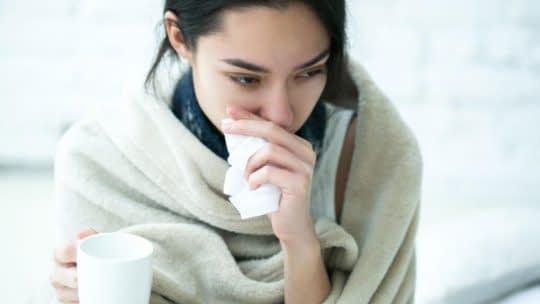 درمان سرماخوردگی با چای سفید